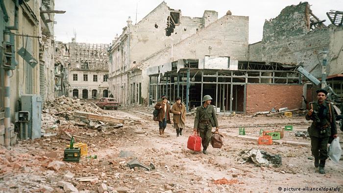 Η κροατική πόλη Βούκοβαρ το 1991 μετά από πόλεμο τριών μηνών