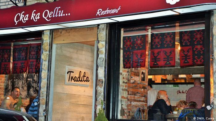USA New York Albanisches Spezialitäten Restaurant