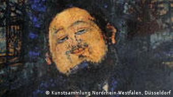 Amedeo Modigliani Porträt Diego Rivera
