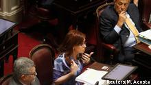 Argentinien Cristina Kirchner im Senat