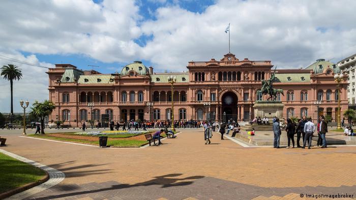 Argentinien La Casa Rosada, Rosa Haus, Präsidentenpalast