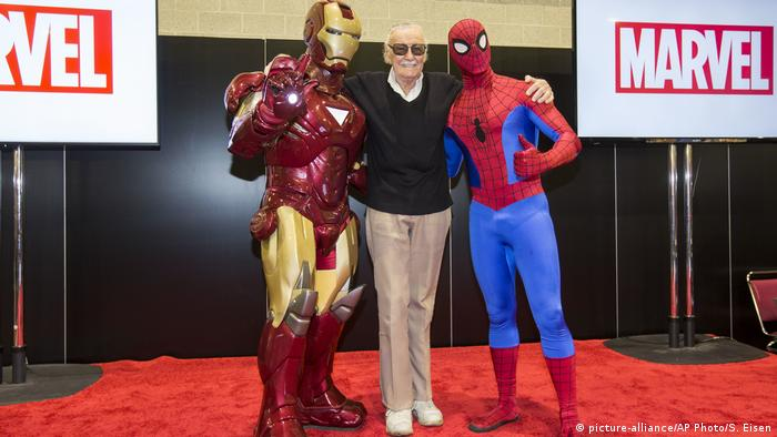 USA Providence Stan Lee (picture-alliance/AP Photo/S. Eisen)