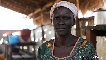 Die aus dem Südsudan geflüchtete Jenty Jendia (Simona Foltyn)