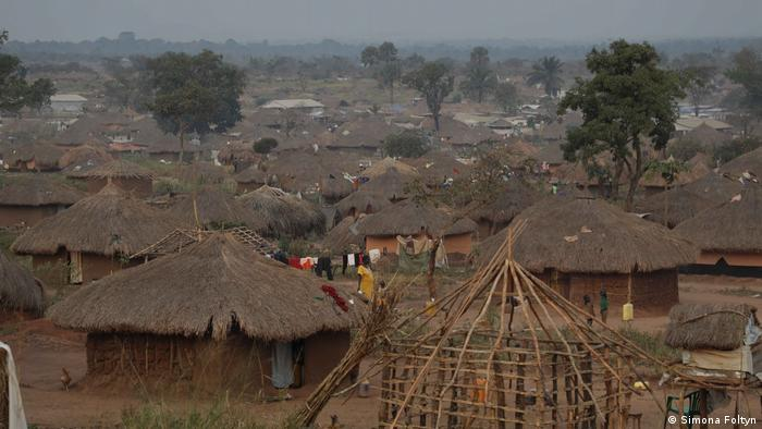 Flüchtlingslager im Kongo nahe Aba