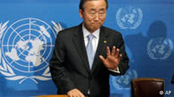 Ban Ki Moon Antirassismus Konferenz in Genf