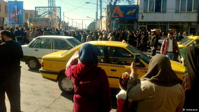 Iran Demonstration in Mashhad