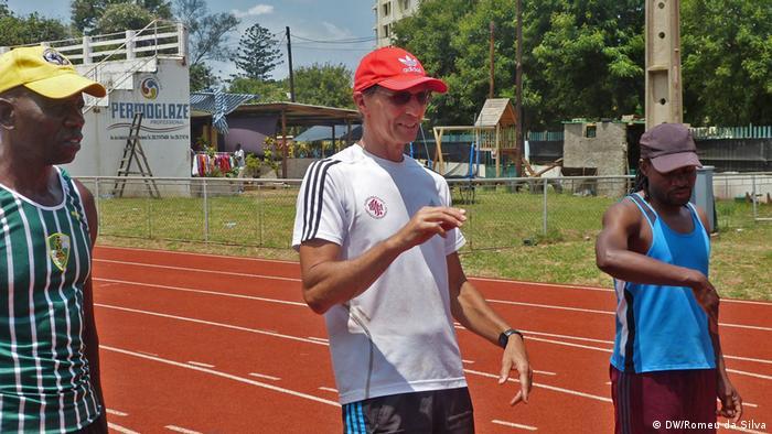 Mosambik deutscher Leichtathletik-Trainer Peter Müller