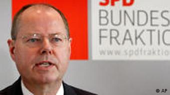 Federal Finance Minister Peer Steinbrueck