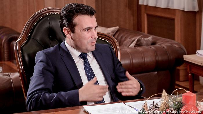 Mazedonien Premierminister Zoran Zaev (Press service of the Government of Republic of Macedonia)