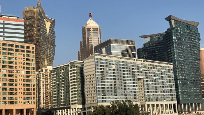 Macau Banken Skyline