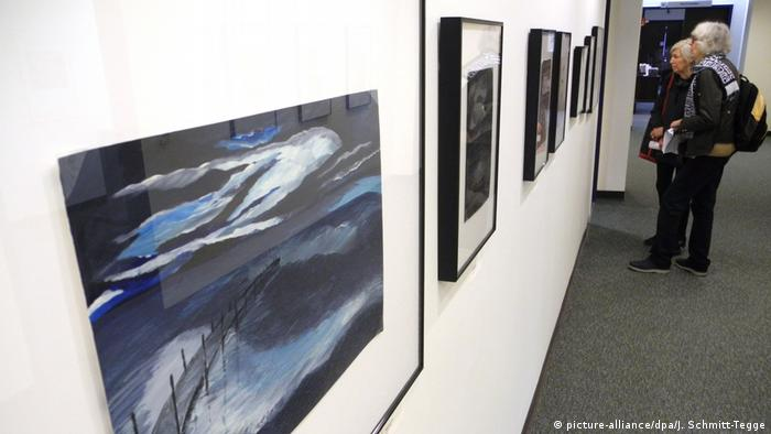 New York exhibition on art from Guantanamo (picture-alliance/dpa/J. Schmitt-Tegge)