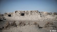 Dürre im Hamun-e Helmand, Iran. Hamun-See wird eine saisonale Seenlandschaft in der Provinz Sistan und Belutschistan im Iran bezeichnet.