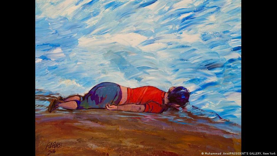 Ausstellung: ART from Guantánamo, Ansi, Alan Kurdi