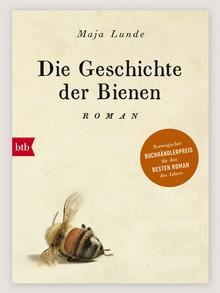 The German cover for the history of bees by maja Lunde