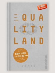 Book cover QualityLand (helle Edition ) Marc-Uwe Kling