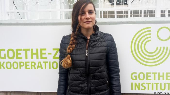 Albanien Medizinstudenten Aurora Likani (DW/A. Ruci)