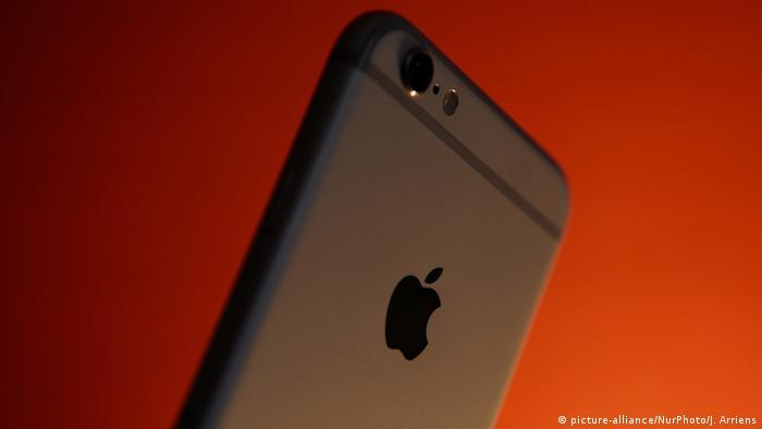 Оборотная сторона телефона iPhone 6
