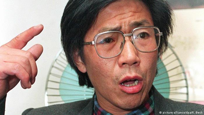 China Bürgerrechtler Qin Yongmin 1993