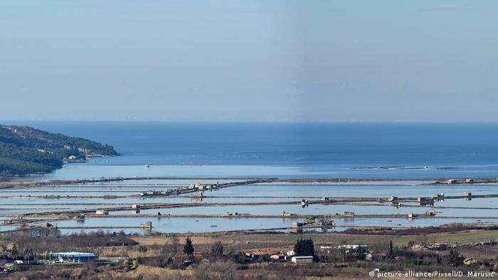 Grenzstreit Bucht von Piran