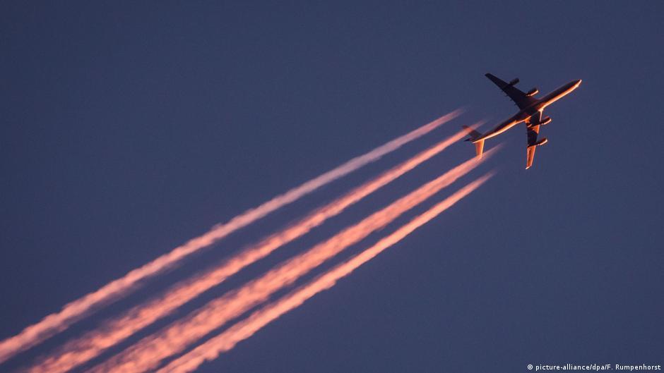 Der Klimawandel und das Fliegen