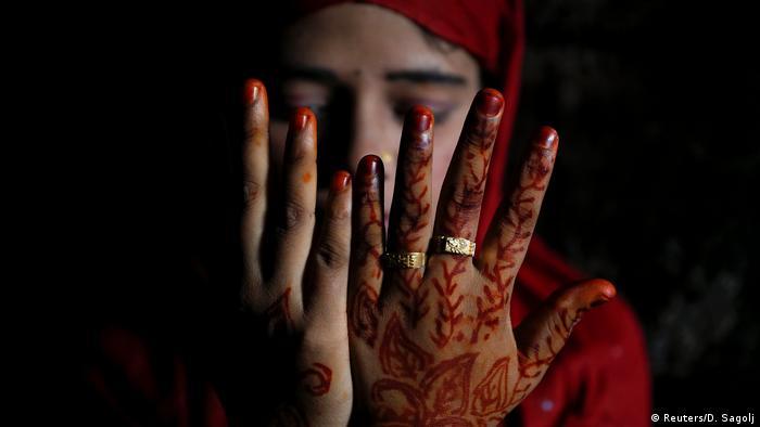 Rohingya-Hochzeit im Flüchtlingscamp (Reuters/D. Sagolj)