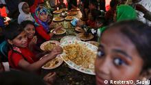 Rohingya-Hochzeit im Flüchtlingscamp