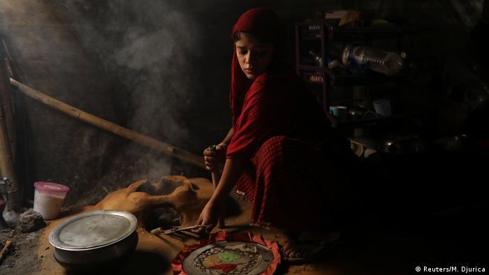 Rohingya-Hochzeit im Flüchtlingscamp (Reuters/M. Djurica)