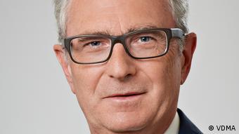 Ulrich Ackermann, representante de la Asociación Alemana de la Industria de Ingeniería Mecánica (VDMA).