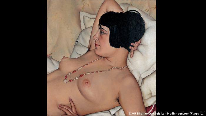 Кристиан Шад. Полуобнаженная натурщица (1929)