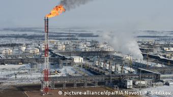 Russland Krasnojarsk Luftverschmutzung