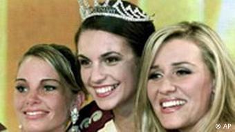 Miss Germany 2002 mit Sperrfrist