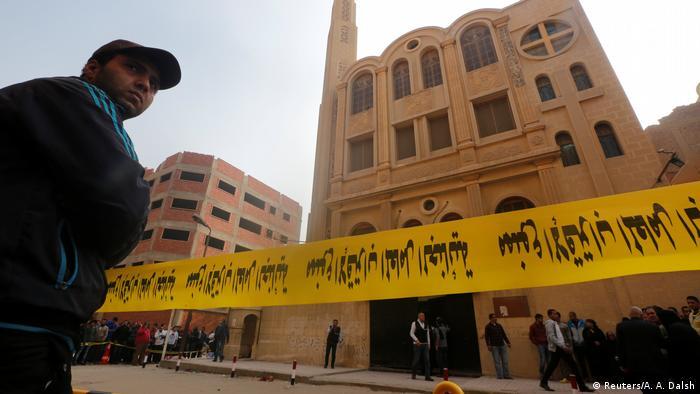 Ägypten Helwan Anschlag auf Mar Mina Kirche