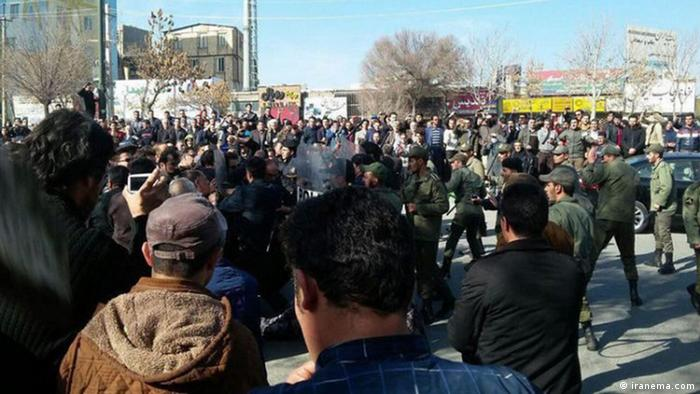 Protest welle gegen iranische Regierung