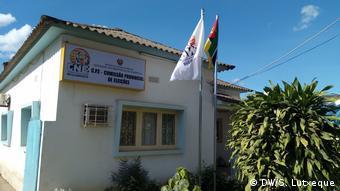Gebäude von CNE in Nampula