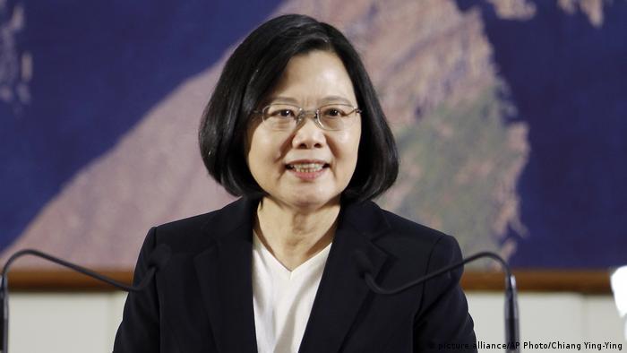 Taiwan Tsai Ing-wen (picture alliance/AP Photo/Chiang Ying-Ying)