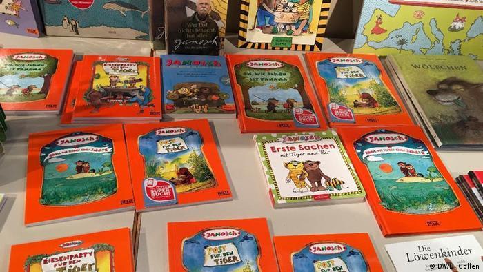Deutschland Kinder- und Jugendbuchmesse KIBUM in Oldenburg - Janosch
