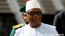 Nigeria Ibrahim Boubacar Keita in Abuja