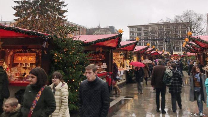 بازارچه کریسمس شهر کلن