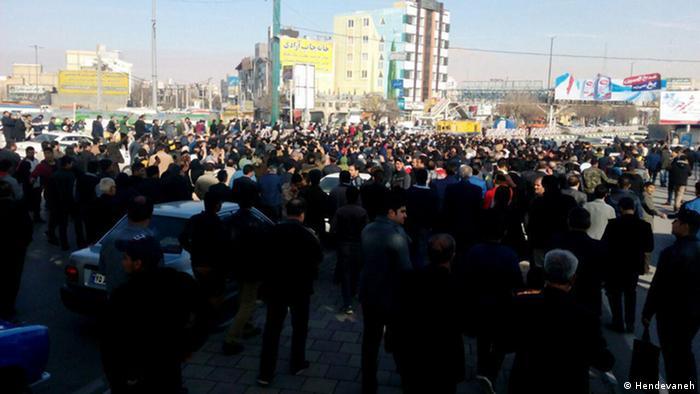 Iran   Protestwelle gegen die iranische Regierung (Hendevaneh)