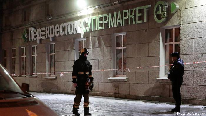 Russland | Explosion in einem Supermarkt in St. Petersburg (Reuters/A. Vaganov)