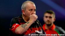 Großbritannien Dart-WM in London - Phil Taylor