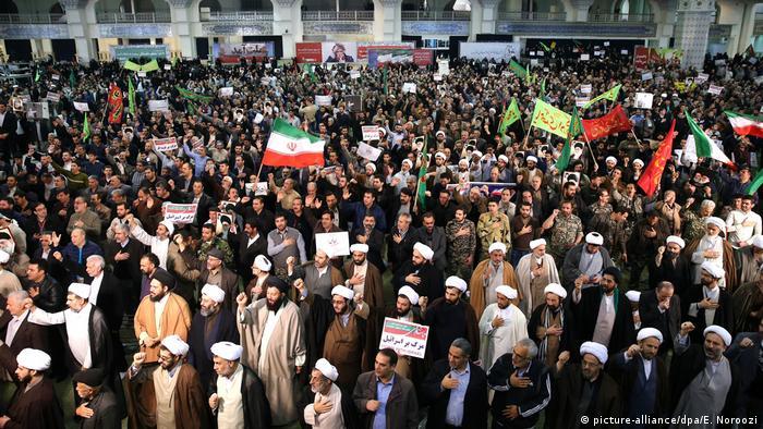 Акція протесту в Тегерані