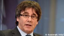 Belgien Ehemaliger katalanischer Präsident Carles Puigdemont im Interview mit Reuters in Brüssel
