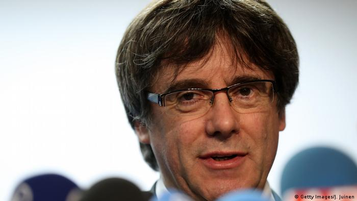 Ex-Catalan president Carles Puigdemont in Brussels (Getty Images/J. Juinen)