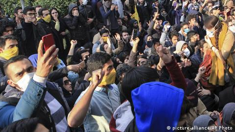 Iran Protests in Teheran (picture-alliance/AP Photo)