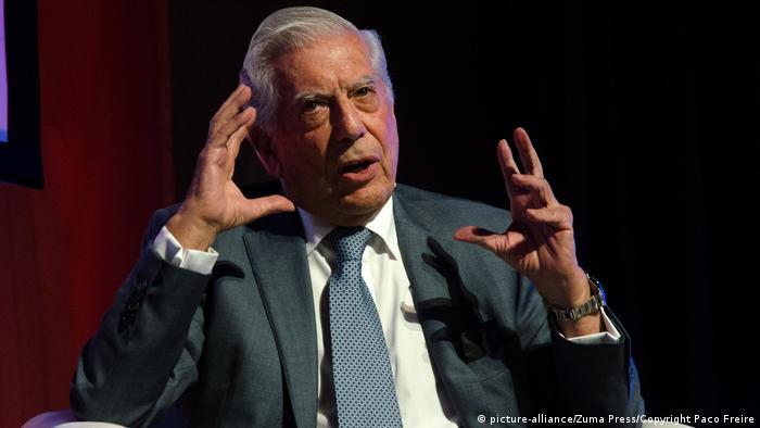Mario Vargas Llosa, Schriftsteller (picture-alliance/Zuma Press/Copyright Paco Freire)