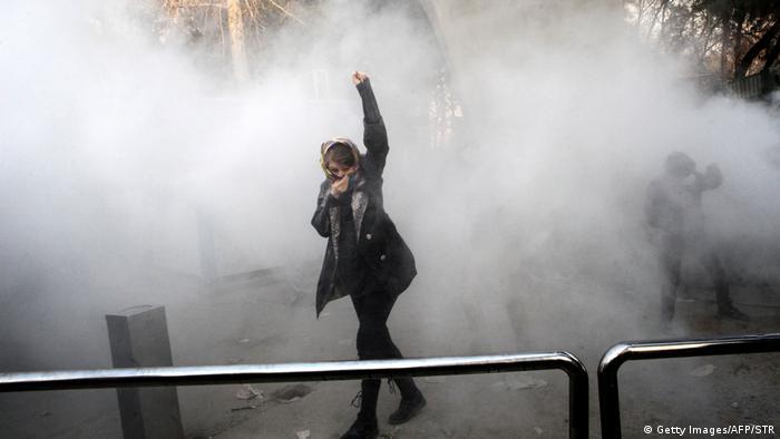 Iran Proteste gegen Regierung in Teheran