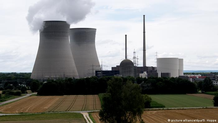 Gundremmingen power plant insouthern Germany (picture-alliance/dpa/S. Hoppe)