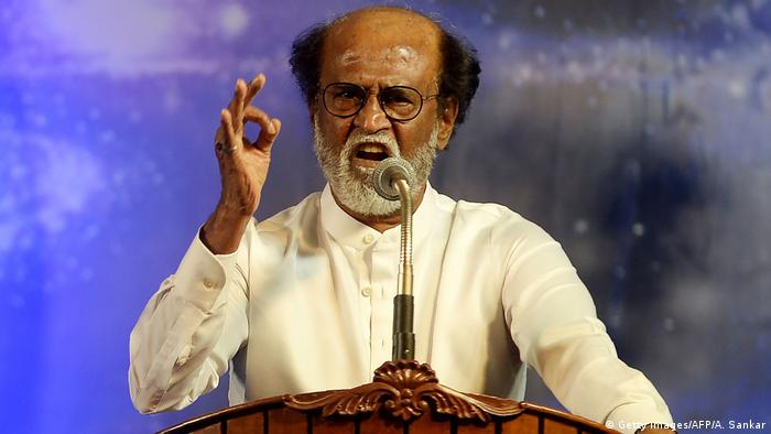 Indien Regisseur Rajinikanth (Getty Images/AFP/A. Sankar)