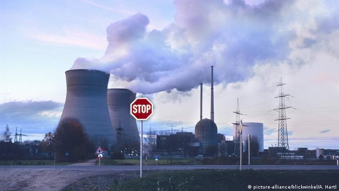 Deutschland | Atomkraftwerk Grundremmingen (picture-alliance/blickwinkel/A. Hartl)